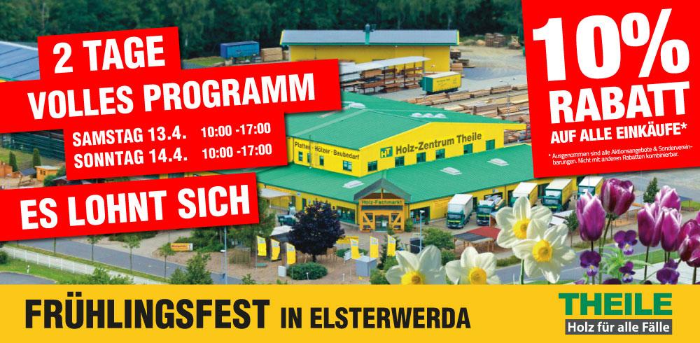 Frühlingsfest 2019 in Elsterwerda