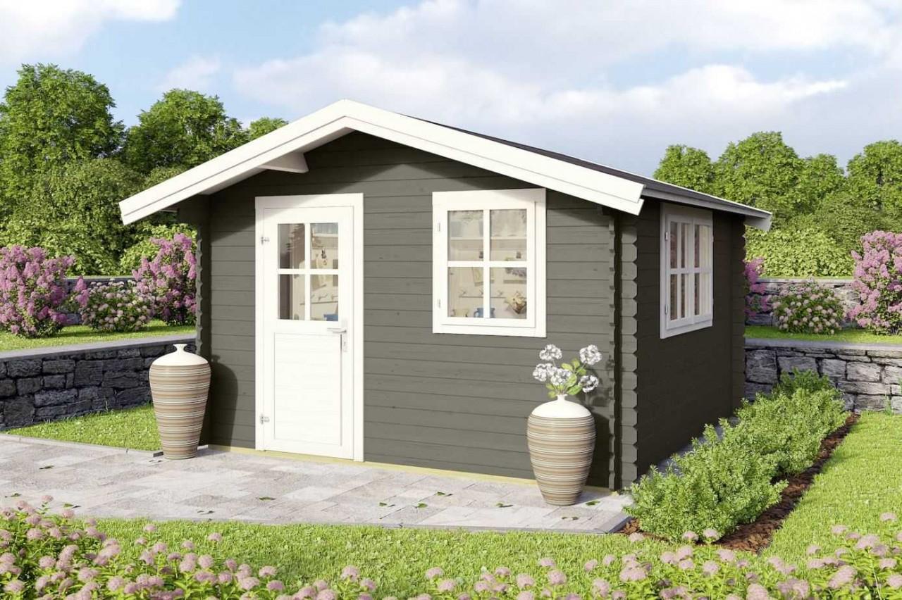 Mr Gardener Gartenhaus Donau Bxt 380 X 280 Cm Aufstellmasse Satteldach Hagebau De
