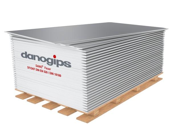 Dano Feuer Gipskarton | 2500 x 1250 x 12,5 mm