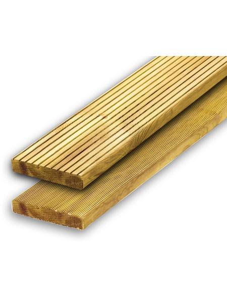Holz-Terrassendiele Kiefer/Fichte KDI »2,7 x 14,6 cm«