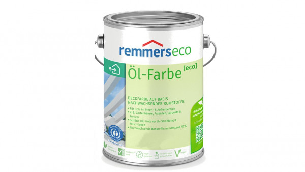 Remmers eco Öl-Farbe | Diverse Dekore, 2,5 Liter