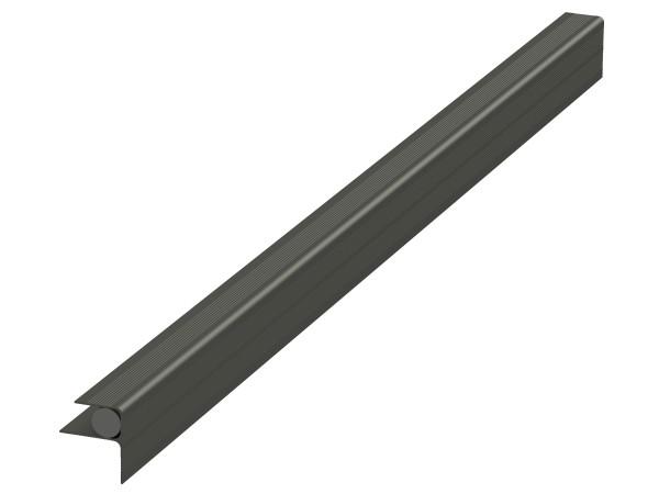 megawood alu hausanschlussprofil anthrazit inkl dehnungsband 4000 x 21 mm. Black Bedroom Furniture Sets. Home Design Ideas