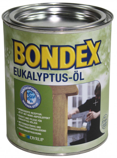 Pflegeöl für Eukalyptusholz