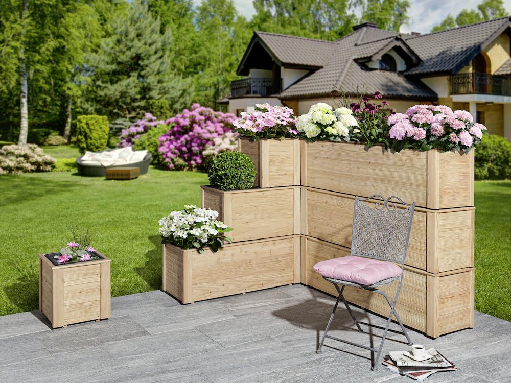 Top Lärche-Blumenkasten einfach stapelbar, ohne Einsatz und Boden 38 x &VK_69